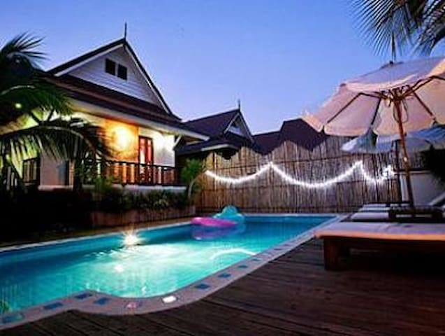 private villa pool spa 3 beds - Pattaya - House