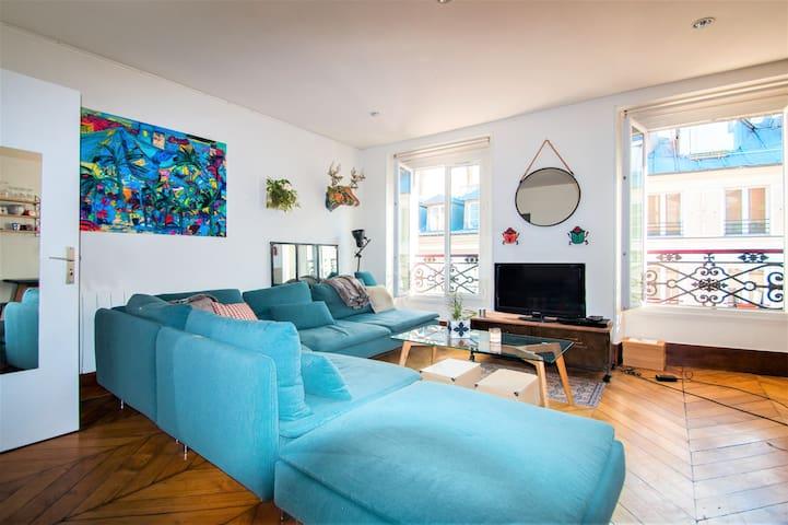Nice apartment in the heart of Marais district - París - Departamento