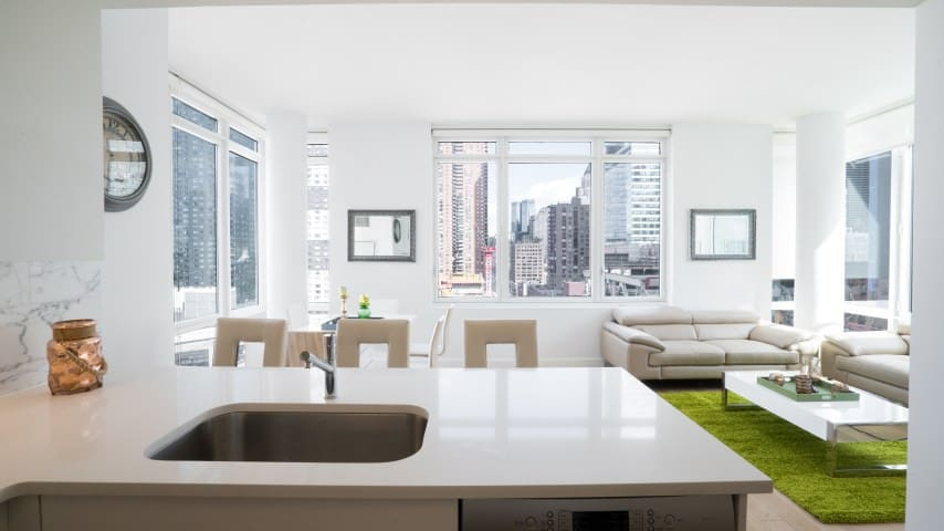 Full penthouse apt. 3 bed-bathrooms next Times Squ - Nova York - Casa