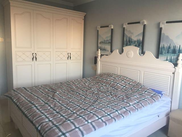 温泉豪宅-两室一厅可做饭-带阳台