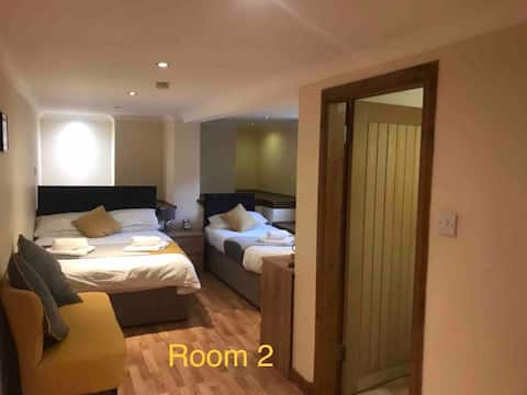 Private Entrance, En-suite,Near Town, Room 3