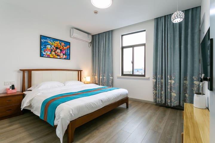 迪士尼/整套/免费接送/高景温情大床房