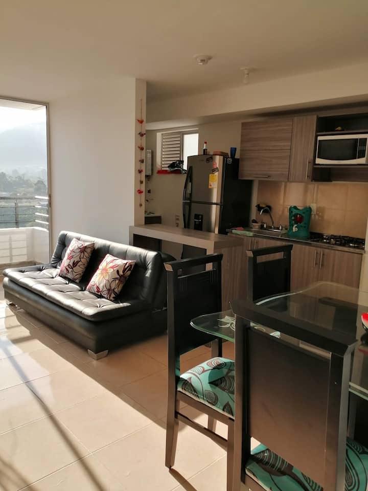 Hermoso Apartamento con vista panorámica cafetera