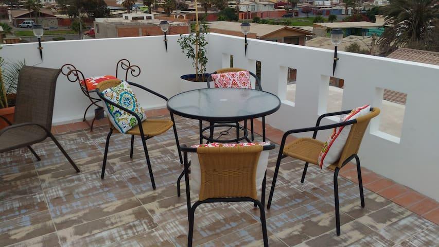 Habitacion individual Primer Piso, N°3,Valto&Ziron - Arica - Bed & Breakfast