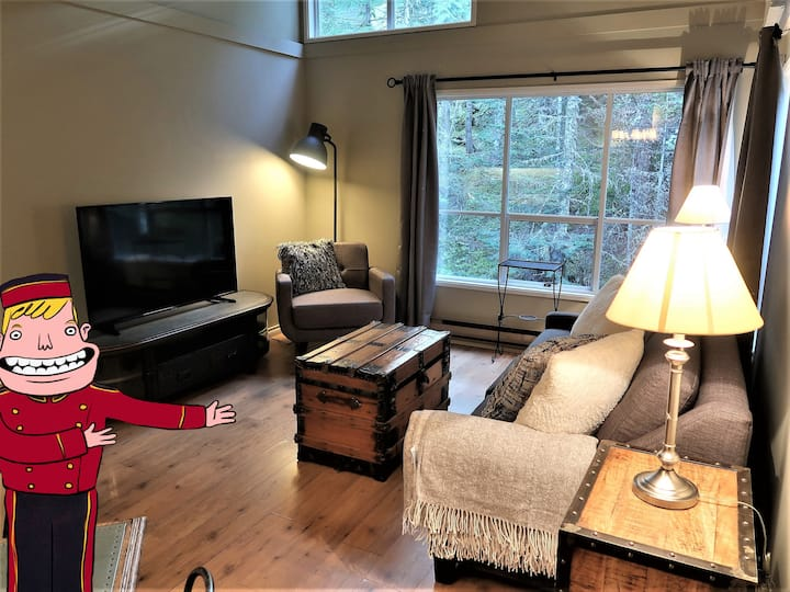 Hilltop Creekside 1 bdrm Condo - Walk to the Lifts