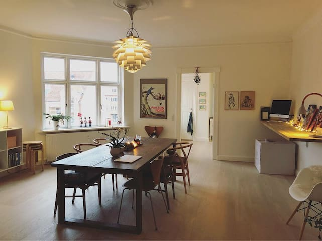Spacious and modern flat in the center of Vejle!