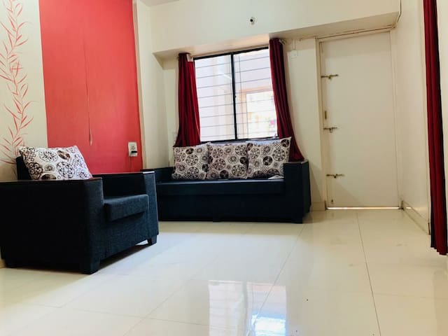 Stay in Fully furnished 2BHK at Magarpatta