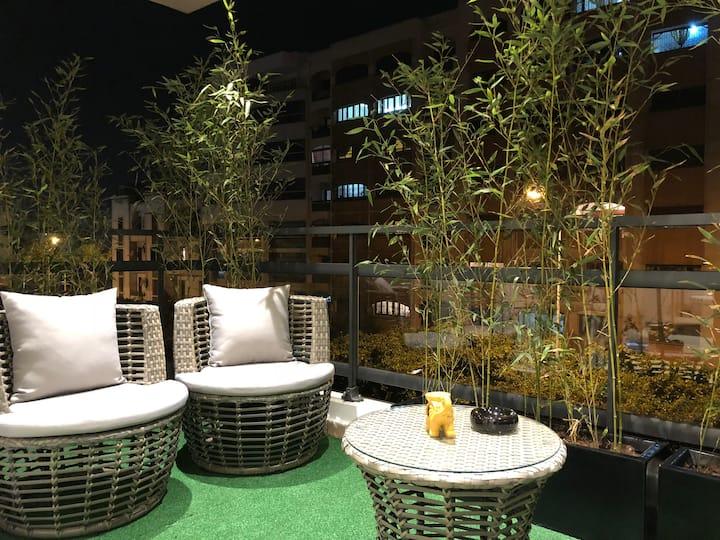 ☀️☀️ Appart'Ali 002 ☀️☀️ Chic Terrace Ziraoui