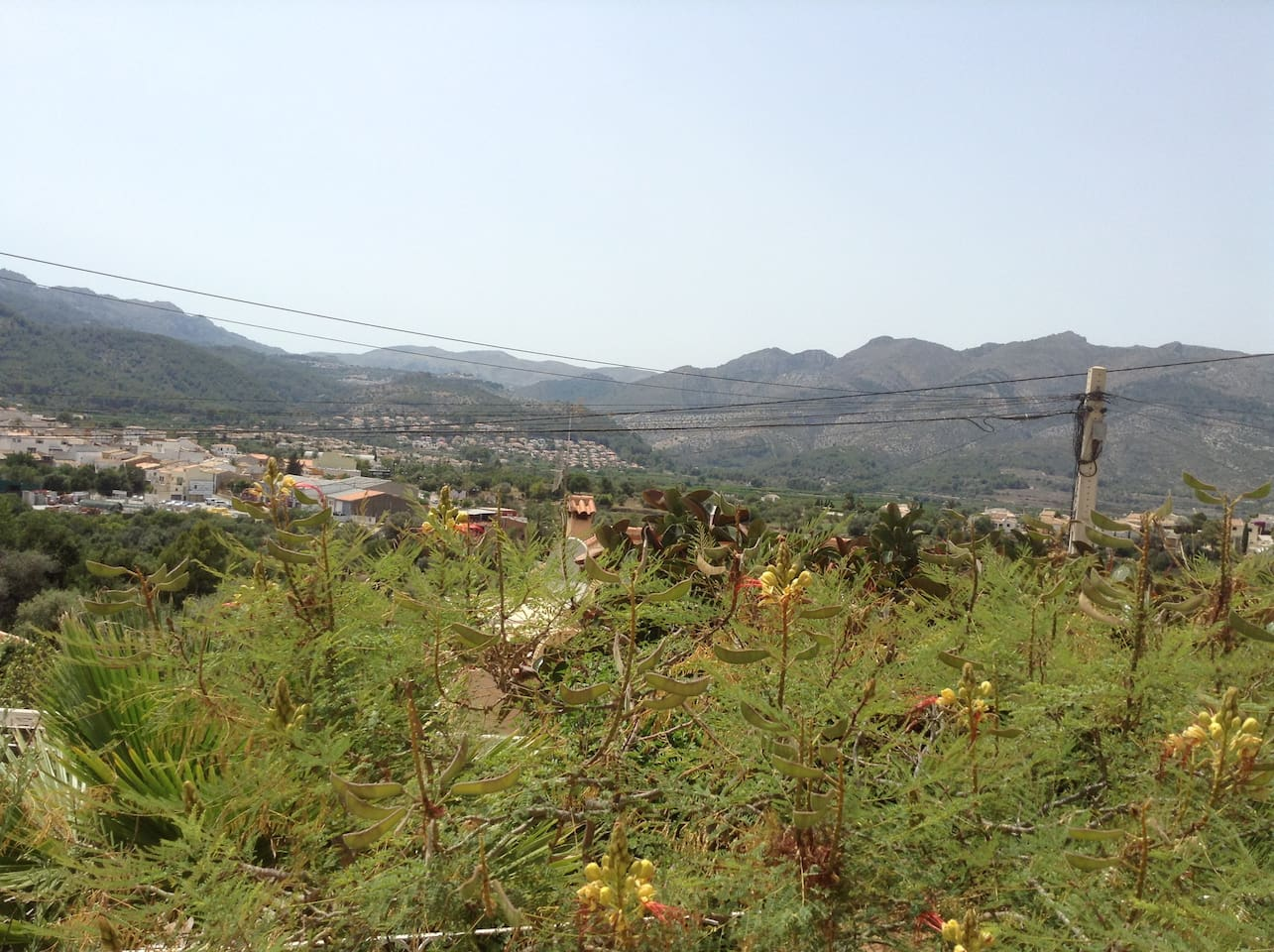 Views of Orba Town & Mountains