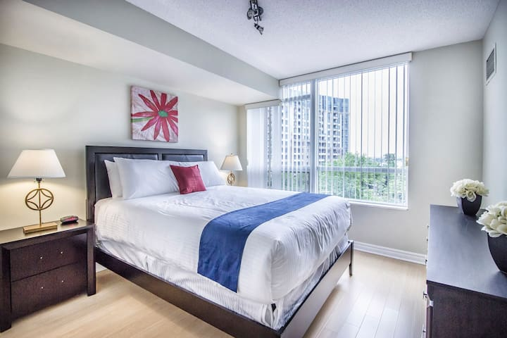 Luxury 1BD Suite with Gym and Parking in Markham - Markham - Wohnung