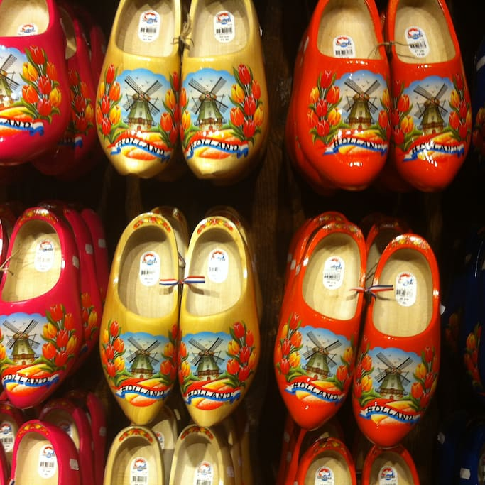 The wooden shoes of Holland