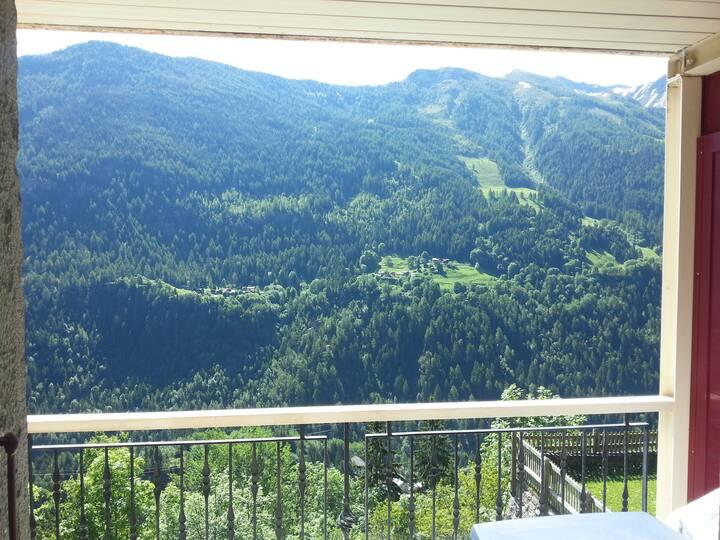 Le Terminus à Gietroz, entre Martigny et Chamonix