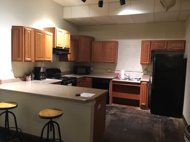 Large 1-bdrm apartment in Old Town w sleeper couch - Wichita