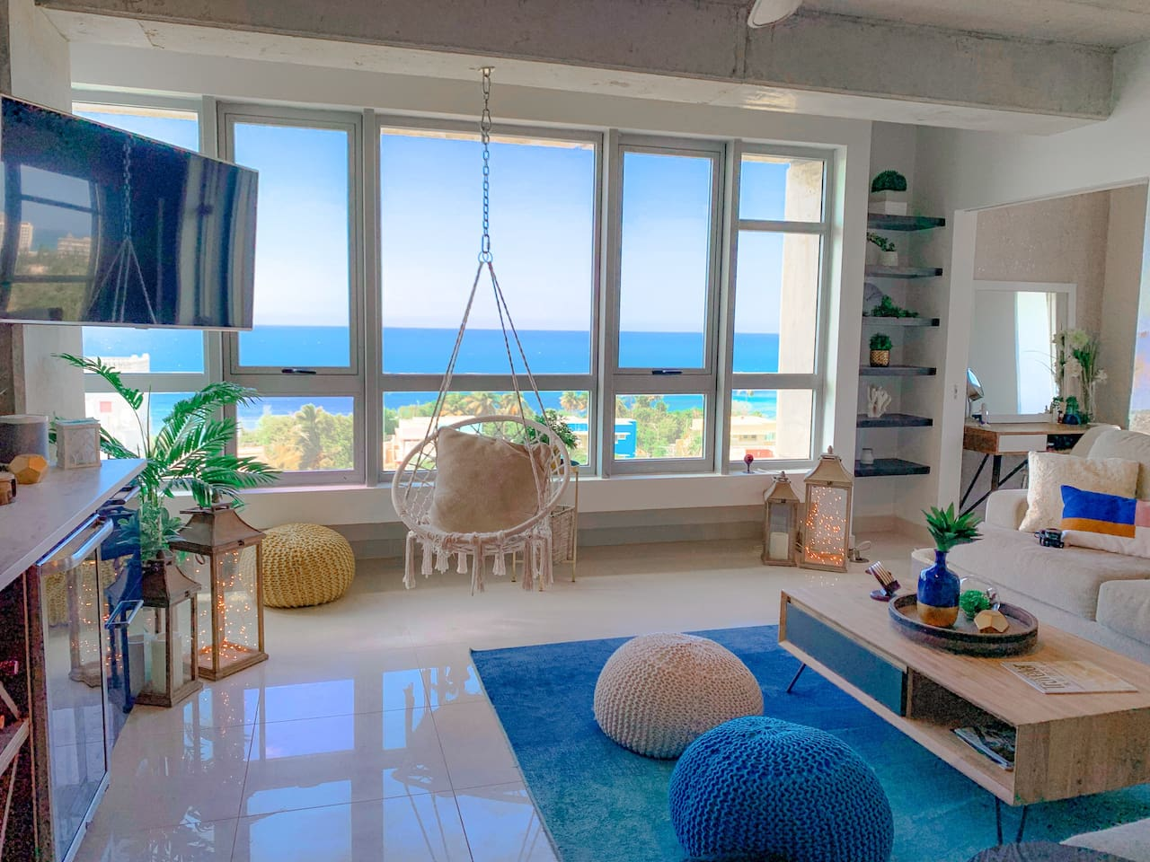 Ocean Views & Swing Chair