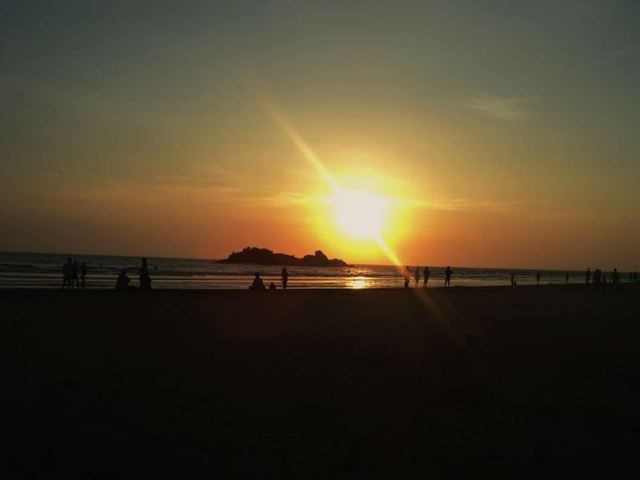 Sunset @ Moragalla Beach