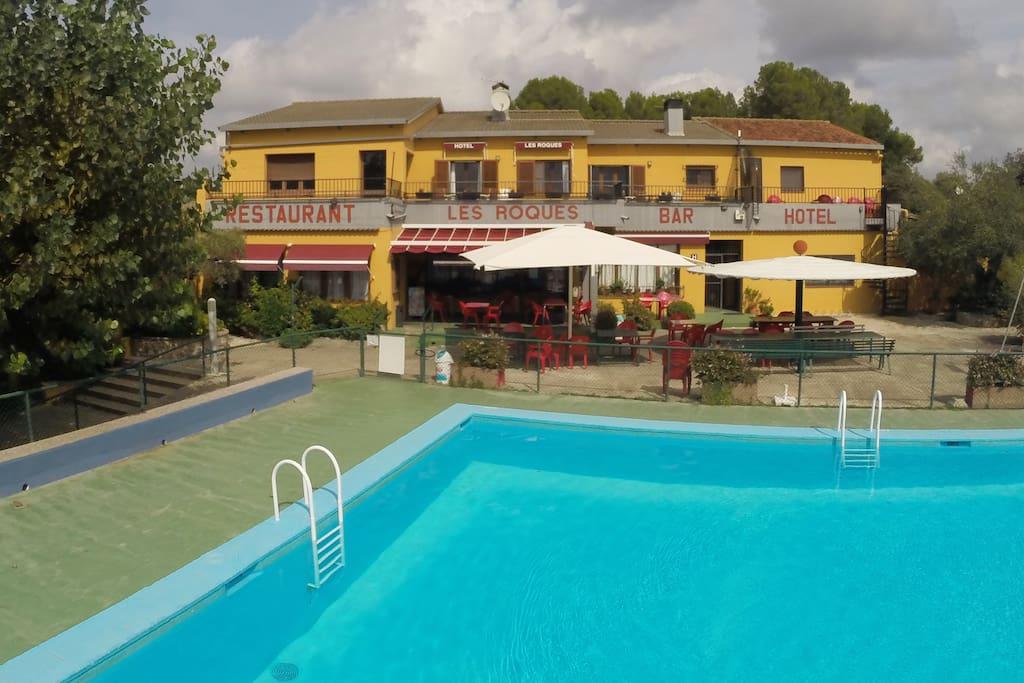 Apartamento en hotel familiar condominiums for rent in for Hotel familiar girona