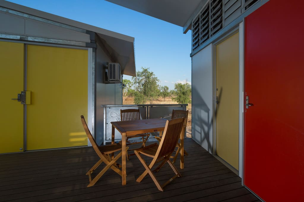 A breezy verandah to enjoy the surrounding views