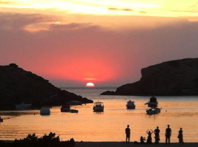 Lovely 1Br on the beach - Sant Josep de sa Talaia - Lakás