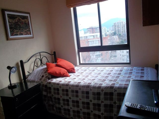 Dormitorio para 1 persona en Las Condes