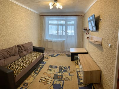 Двухкомнатная квартира в курортном пгт. Шерегеш