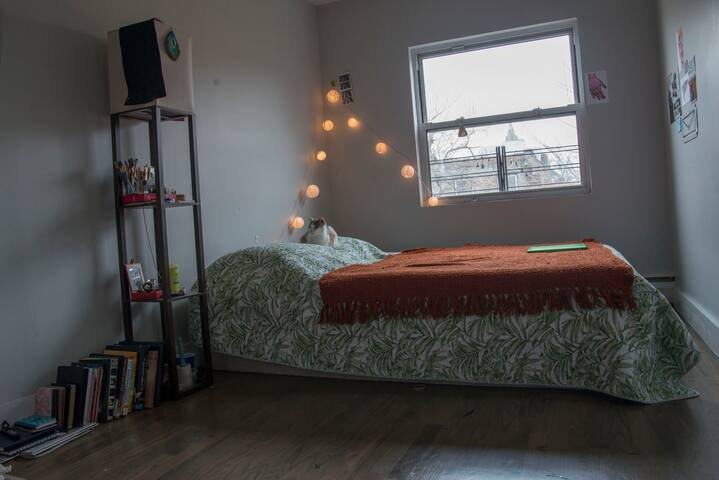 Bright Brooklyn Room close to Manhattan - Brooklyn - Apartment