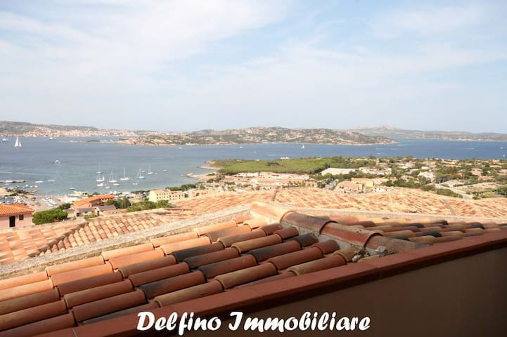AT / 23 Penthouse beautiful panoramic views - Palau - Apartemen