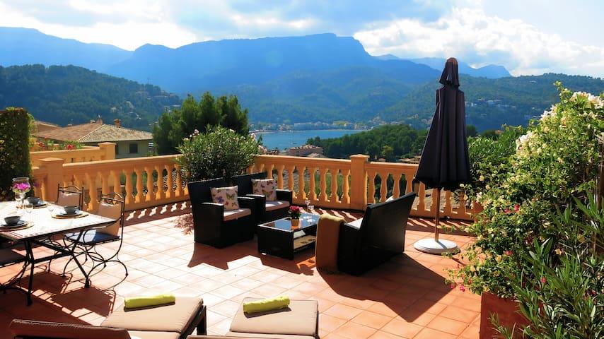 Apartamento gran terraza privada y vistas al mar