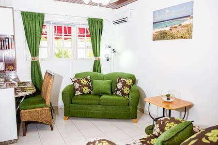 Comfortable apartment near beautiful Malmok Beach