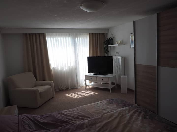 35 m2 Wohnung für 2 Personen mit Ausblick