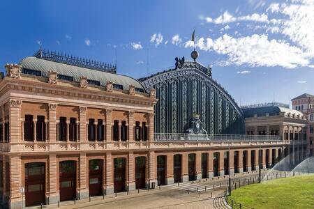 Habitación Atocha en Centro Madrid - Madri