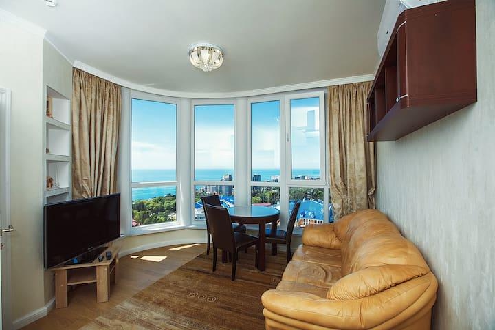 Квартира с видом на море. - Большой Сочи