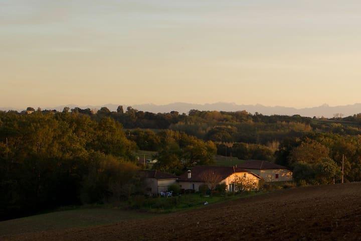 Belle maison de campagne Landes sud de la France