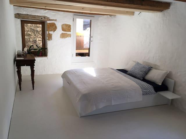 Zimmer in Rebhaus am See mit eigenem Badezimmer. - Biel - Appartement