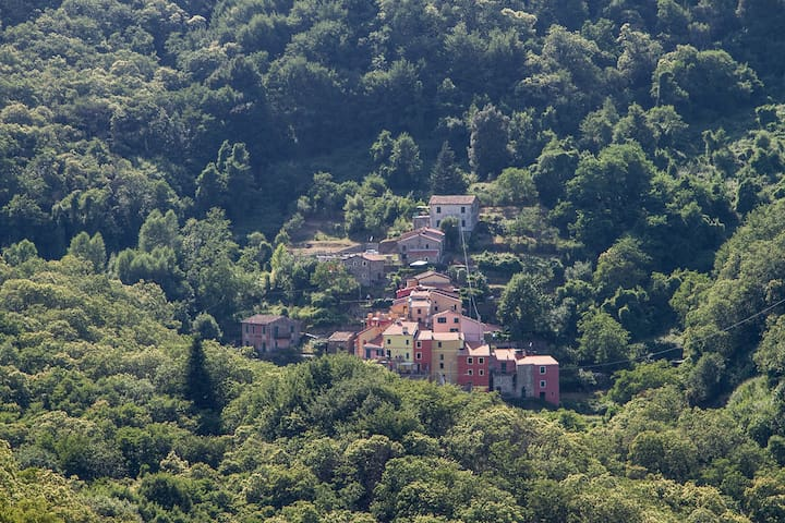 LILLA' - BORGO DI CODEGLIA - CLOSE TO 5 TERRE
