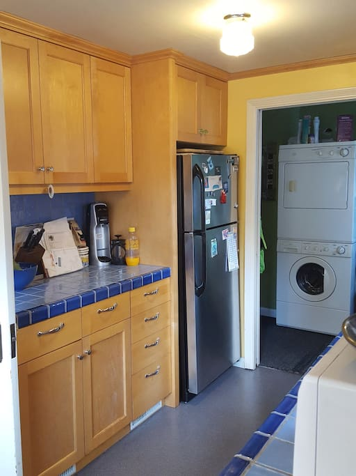 Kitchen + Laundry Rm