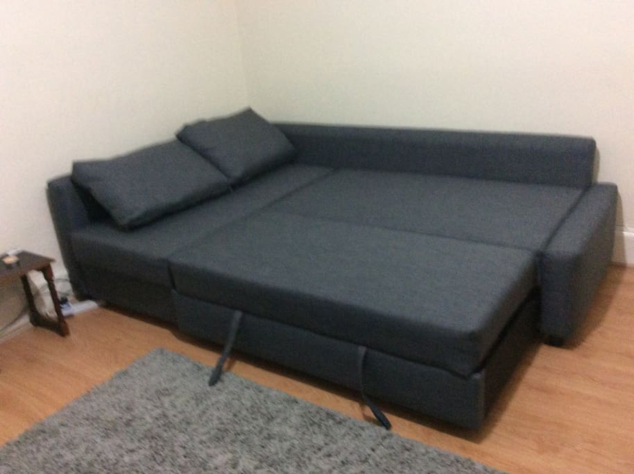 Set as sofa bed
