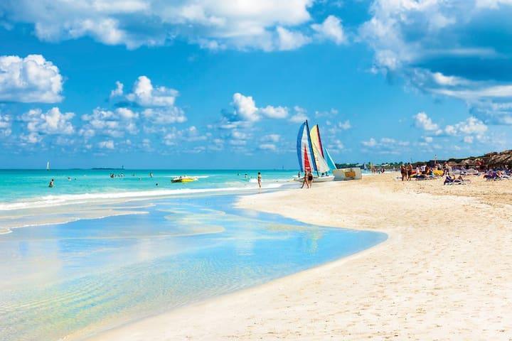Disfruta de playa varadero
