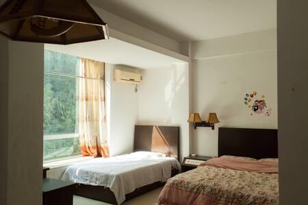 Economy big room/Air garden 经济大套房/一家或好友/私家花园/日出 - Zhaoqing - Apartment
