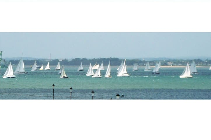 Beautiful sea view - self catered studio twin - Ryde - Byt