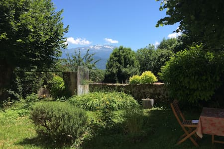Chambre en pleine nature à 16 km de Grenoble - Bernin