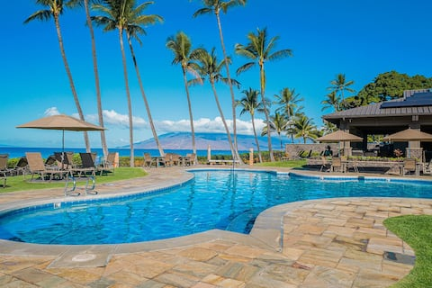 REMODELLED WAILEA 1 BED 2 BATH, WALK TO THE BEACH