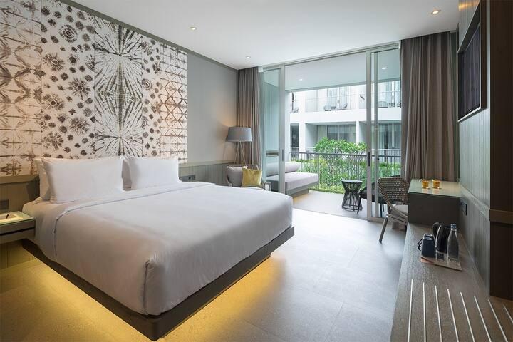 1 Bed Room - Lagoon Pool+Breakfast