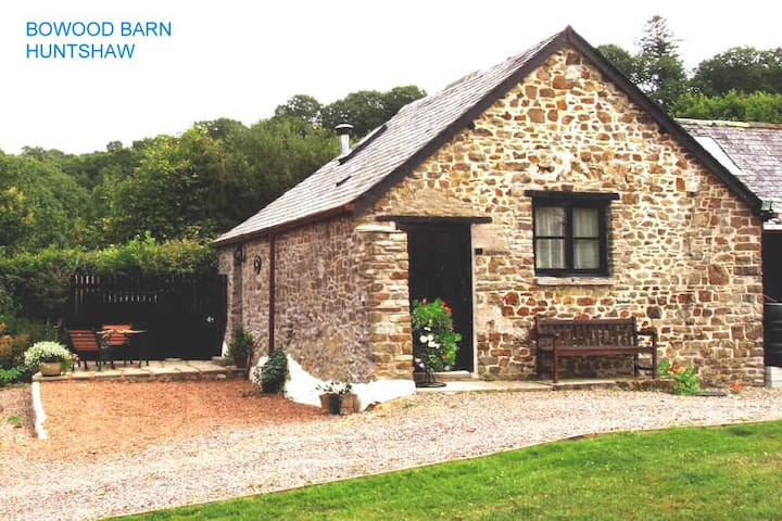 Dog-friendly converted stone barn in rural setting - Huntshaw - Other