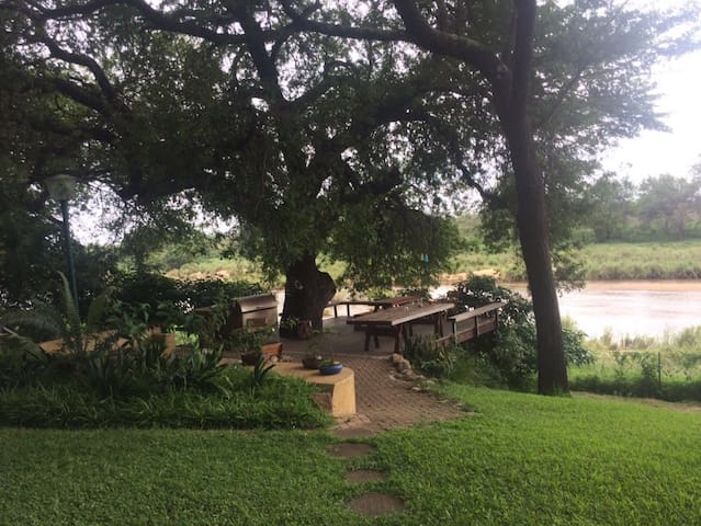 Inside the Kruger National Park - Skukuza - House