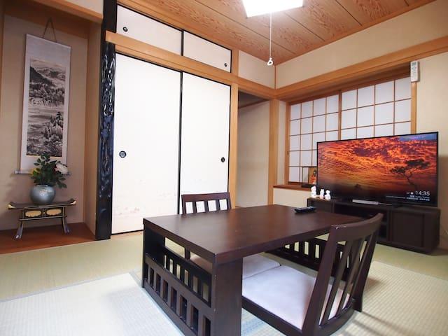 5mins from Kobe Sannomiya★Max12guests!Comfy 4LDK