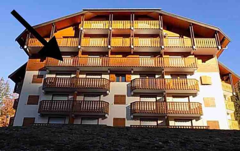 Appartement 3 pièces vue sur les montagnes
