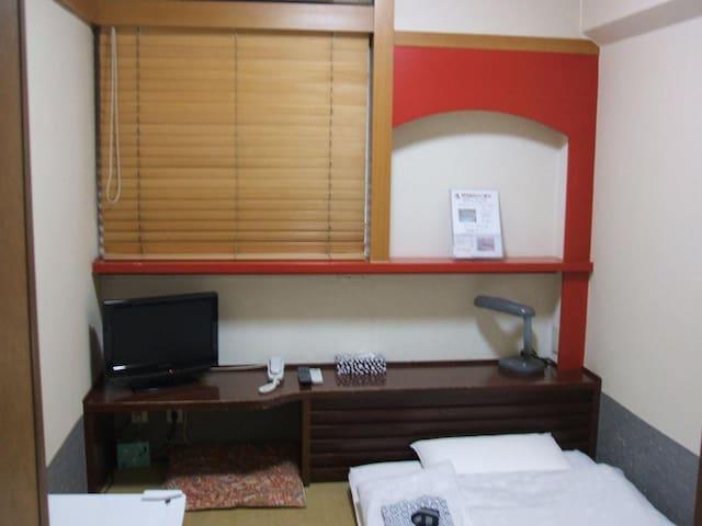 [2mins->Okubo Sta.]Female only Single Room+Wi-Fi