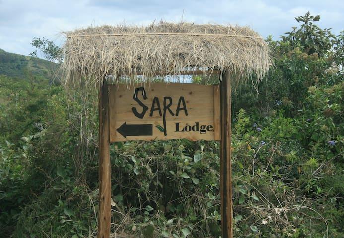 Sara Lodge entrance sign