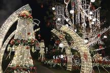 Christmas Village at Manor Hotel on December