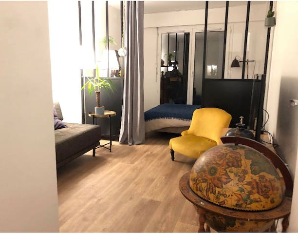 Studio cosy et spacieux - canal St-Martin